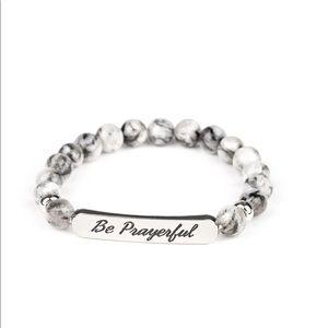 Paparazzi be prayerful stretchy bracelet